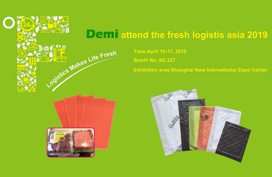 Demi attend 2019 the largest of fresh logistics show in Asia