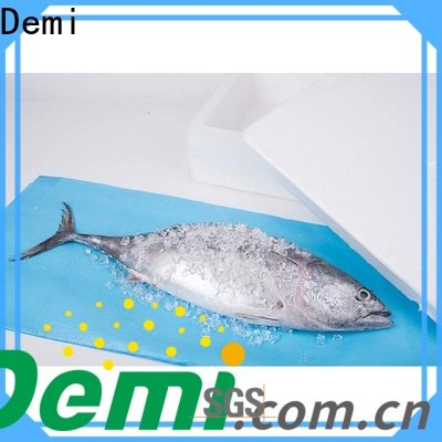 quickly Absorbent seafood pads to prevent spillage for shipping