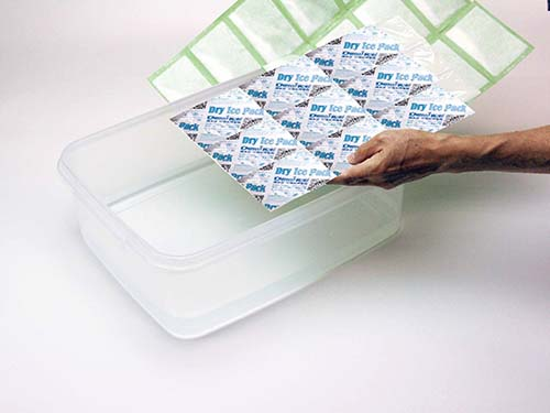 Demi safty dry ice packs for coolers to absorb excess water for indoor-4