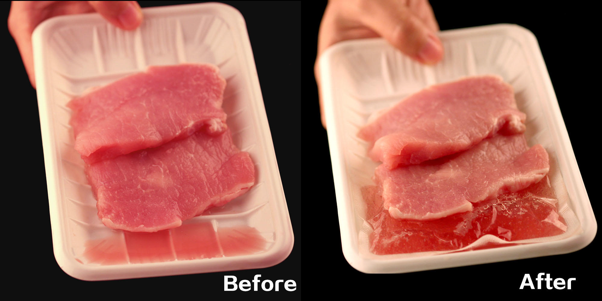 Custom Design meat super soaker pads-1
