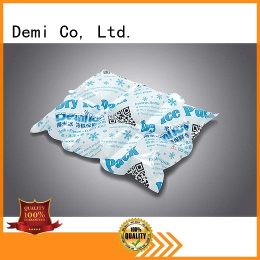 Demi Brand appealing customized Meat reusable dry ice packs