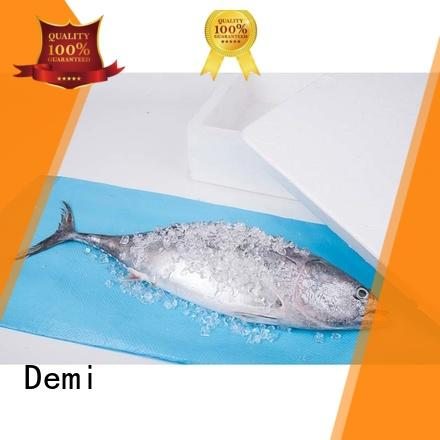 Demi absorbent water absorbing pads to reduce odor for food